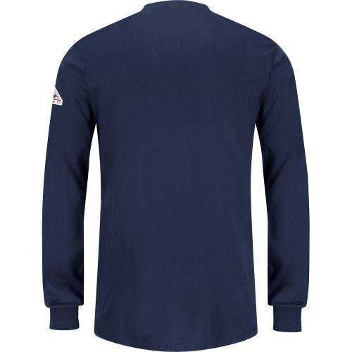 Women's Long Sleeve Tagless Henley Shirt - Excel FR®