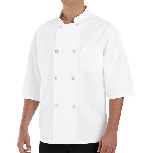 Chef Designs Half-Sleeve Chef Coat