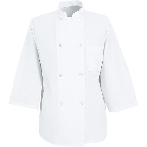 Chef Designs Three-Quarter Sleeve Chef Coat