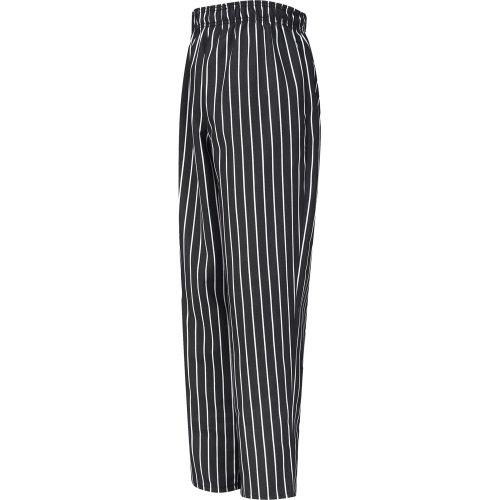 Chef Designs Spun Poly Chalk Stripe Baggy Chef Pants