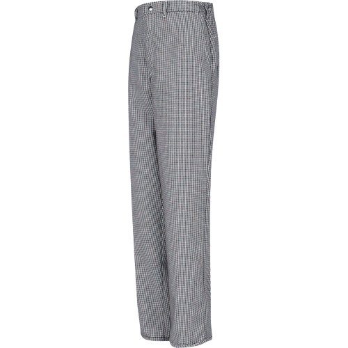 Chef Designs Spun Poly Checked Cook Pants