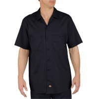 Industrial Cotton Short Sleeve Work Shirt