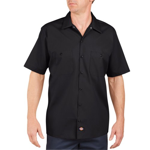 Industrial Short Sleeve Work Shirt