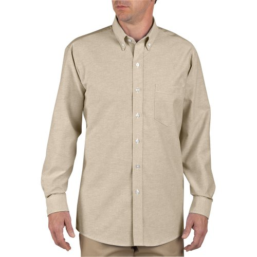 Button-Down Long Sleeve Oxford Shirt