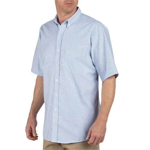 Button-Down Short Sleeve Oxford Shirt