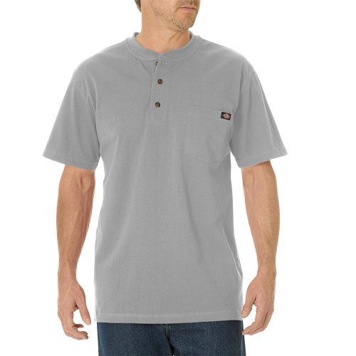 Short Sleeve Heavyweight Henley