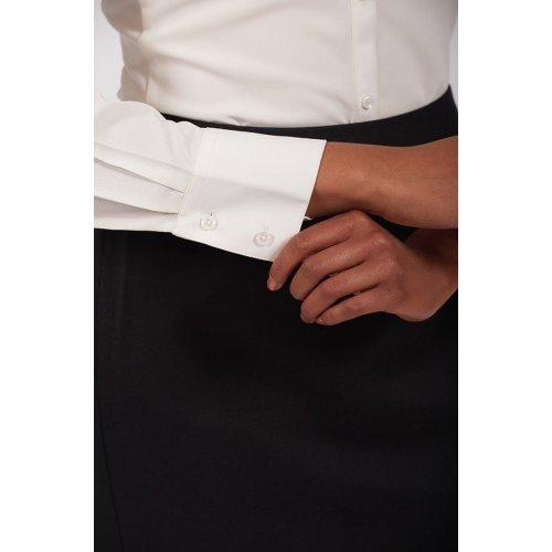Ladies' Batiste Long Sleeve Blouse