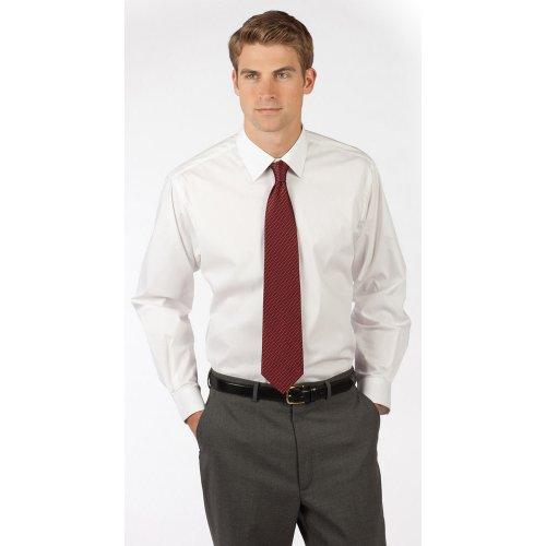 Men's Spread Collar Dress Shirt
