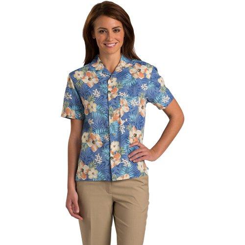 Hibiscus Multi-Color Camp Shirt