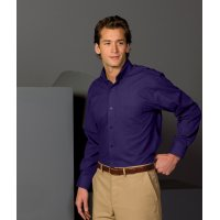 Men's Lightweight Long Sleeve Poplin Shirt