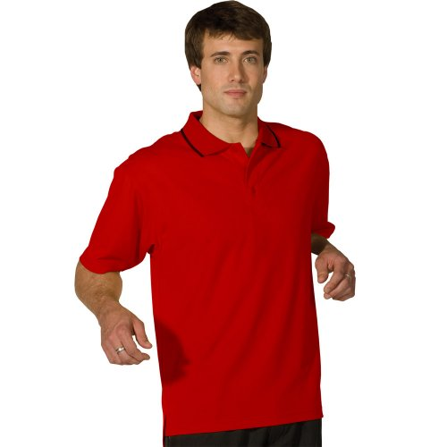 Men's Hi-Performance Mesh Short Sleeve Polo