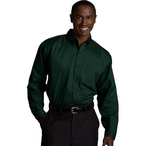 Men's CottonPlus Twill Long-Sleeve Shirt