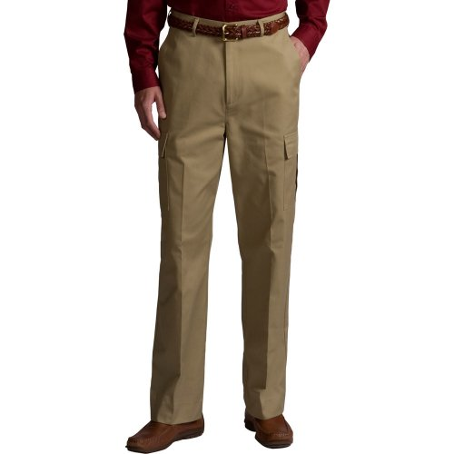 Men's Utility Flat-Front Cargo Pants