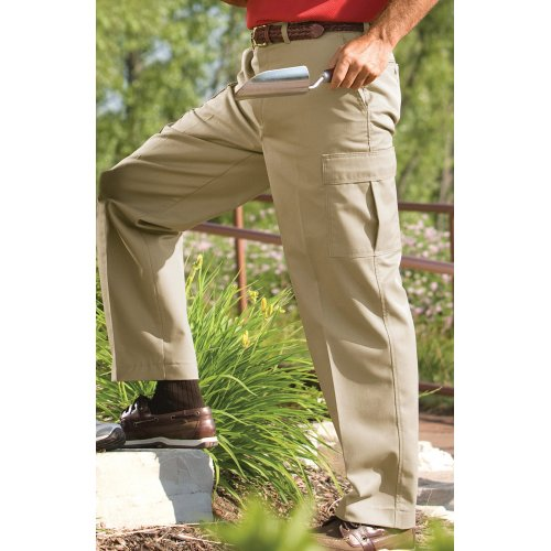 Men's Blended Chino Cargo Pants