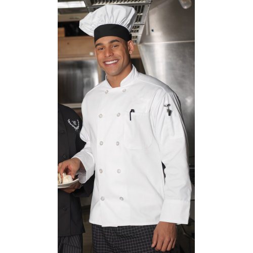 10 Button Long Sleeve Chef Coat