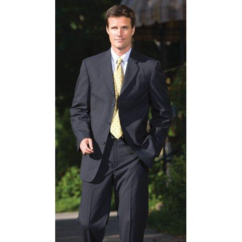 Men's Pinstripe Suit Coat