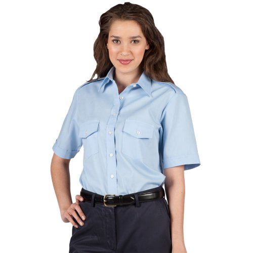 Ladies' Short-Sleeve Navigator Shirt