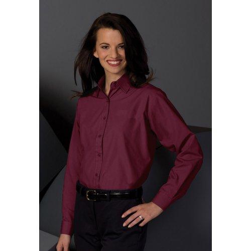 9a802137 Ladies' Broadcloth Value Long-Sleeve Shirt   Edwards Garment ...