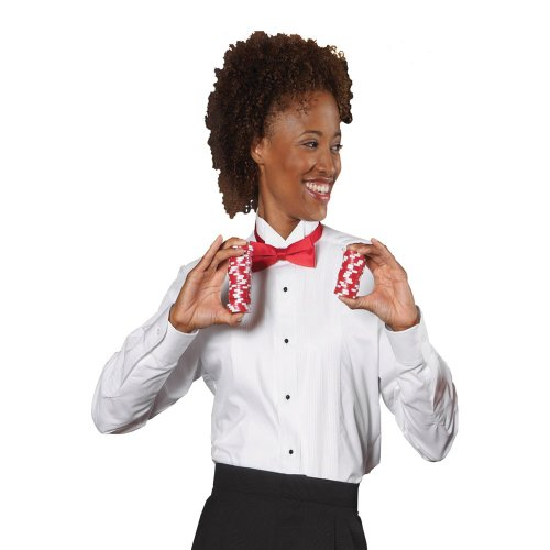 Ladies' Wing Collar Tuxedo Shirt