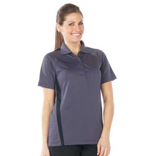 Ladies' Snag-Proof Color Block Short Sleeve Polo