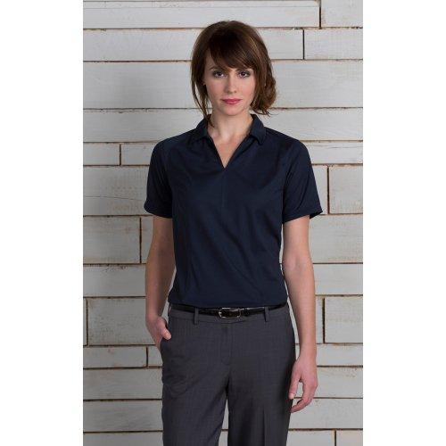 Ladies' Micro Pique Short Sleeve Polo