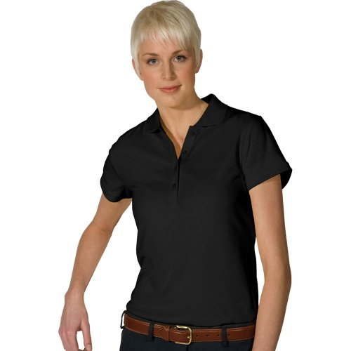 Ladies' Hi-Performance Mesh Short Sleeve Polo