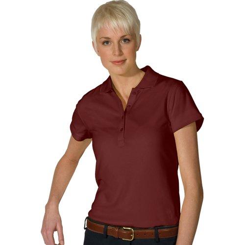 Ladies' Hi-Performance Mesh Short Sleeve Polo