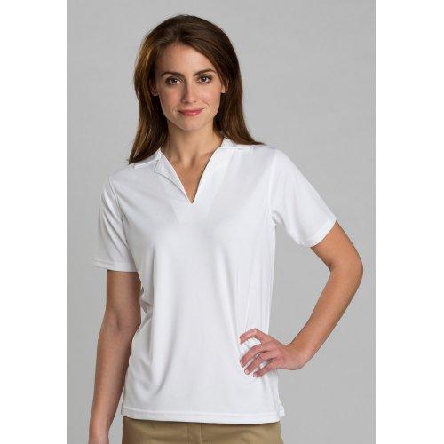 Ladies' Performance Flat-Knit Short Sleeve Polo