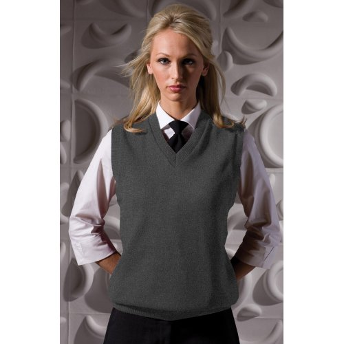 V-Neck Acrylic Sweater Vest