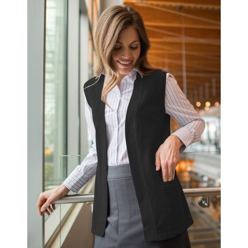 ff0c4c0cb9 ... Ladies  Open Cardigan Sweater Vest ...