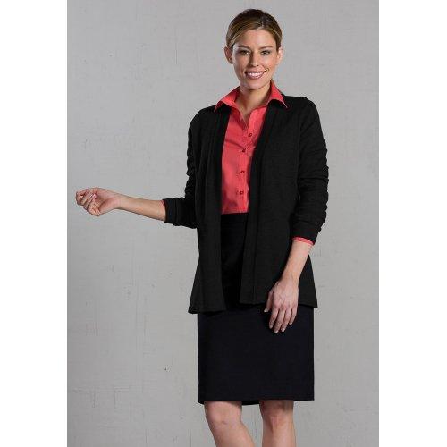 Edwards Garment Womens Open Cardigan
