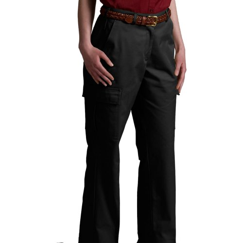 Ladies' Utility Flat-Front Cargo Pants