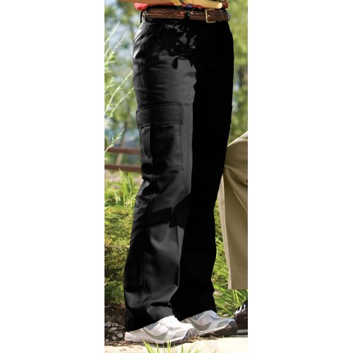 Women/'s Blended Chino Cargo Pant 8573