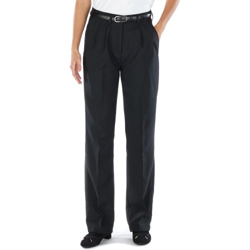 Ladies' Polyester Pleated Pants