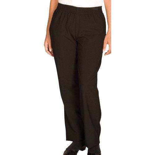 Ladies' Spun Polyester Pull-On Pants
