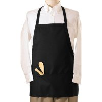 3-Pocket E-Z Slide Bib Apron