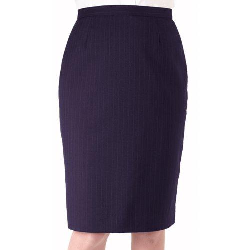 Ladies' Pinstripe Straight Skirt