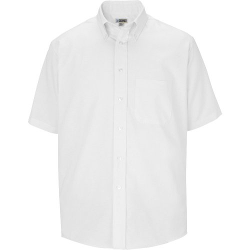 Men's Easy Care Oxford Short-Sleeve Shirt