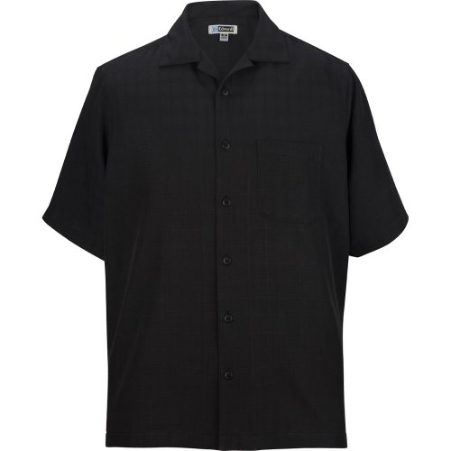Jacquard Batiste Camp Shirt