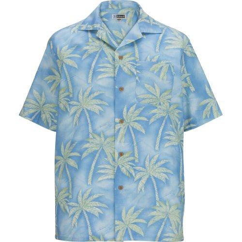 Tropical Palm Tree Camp Shirt