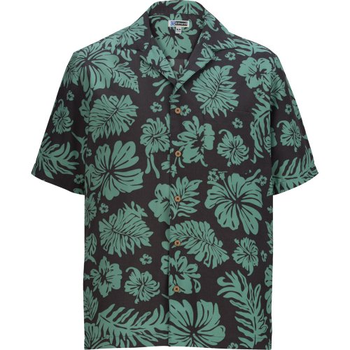 Hibiscus 2-Color Camp Shirt