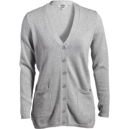 Ladies' V-Neck Long Cardigan Sweater
