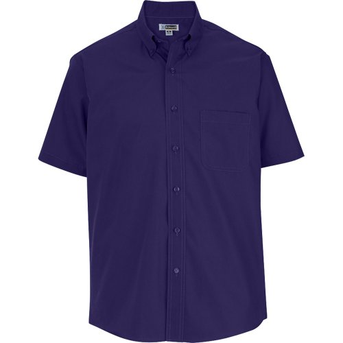 Men's Lightweight Short Sleeve Poplin Shirt