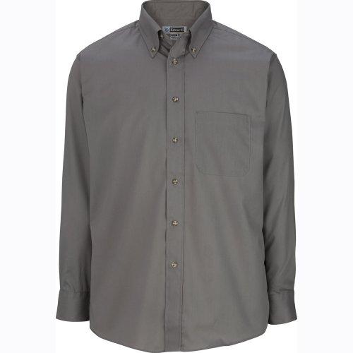 Men's Easy Care Poplin Long-Sleeve Shirt