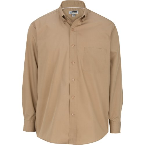 Men's Lightweight Long Sleeve Poplin Shirt