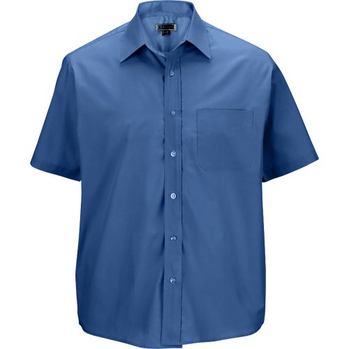 Men's Broadcloth Value Short-Sleeve Shirt