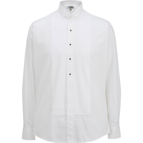Men's Wing Collar Tuxedo Shirt