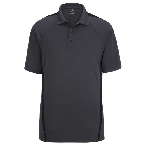 Men's Snag-Proof Color Block Short Sleeve Polo