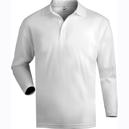 Hi-Performance Mesh Long Sleeve Polo