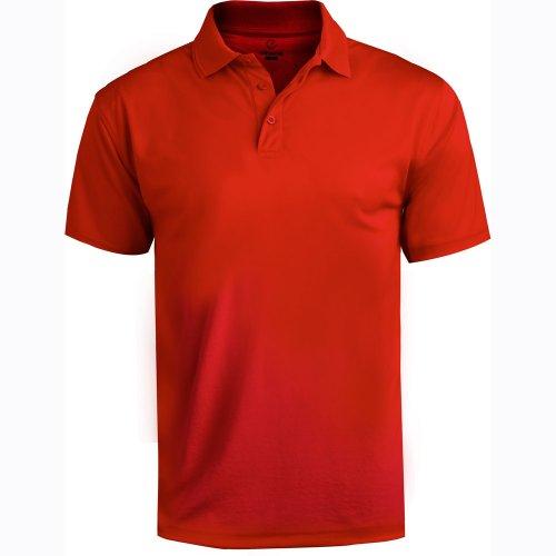 Men's Performance Flat-Knit Short Sleeve Polo